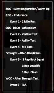throwdown15 schedule